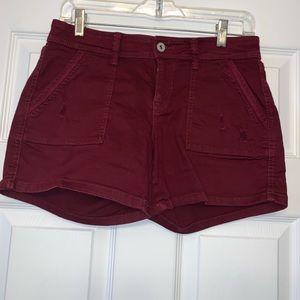 Arizona Jean Co. Burgundy Pocket Short